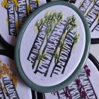 Amulettes Forêt de Bouleaux