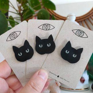 Pin's - Chat noir